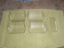 Frigidaire Refrigertor door trays model 240508046A