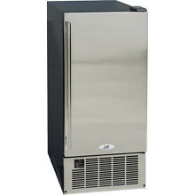 50 lb  Undercounter Ice Maker   Stainless Steel Built In Clear Cube Ice Machine