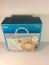 Sears Waterworks Refrigerator Water Filter System   Clean  water is essential