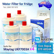 4xECO PURE EFF 6014A REPLACEMENT FOR Amana Maytag UKF7003AXX Fridge Water Filter