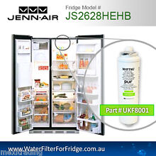 JS2628HEKB JENN AIR FRIDGE MODEL GENUINE WATER FILTERS UKF8001axx