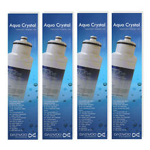 4 x Daewoo DW2042FR 09 GENUINE Aqua Crystal Fridge Water Filter John Lewis  Smeg
