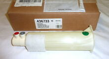 Genuine Bosch Thermador 436733 Refrigerator Water Filter Housing NEW in Box