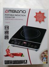 AMBIANO PORTABLE INDUCTION COOKTOP 1800 Watt
