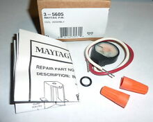 Genuine Maytag 3 5605 Gas Dryer Booster Coil Assembly NEW in Box