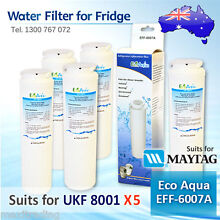 5x MAYTAG   JENNAIR QUALITY REPLACEMENT SUITS UKF8001AXX FRIDGE WATER FILTER