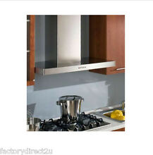 Faber Designer Collection 24  Stilo Wall Hood   Stainless Steel STIL24SS   NEW