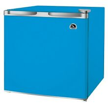 Igloo 1 7 cu ft Mini Refrigerator  Compact Fridge FR115  Blue   Refurbished