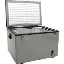 63 Qt Portable Chest Freezer   Refrigerator  EdgeStar Compact 12V Cooler Fridge
