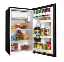 Haier Compact Refrigerator 3 3 Cu Ft Freezer Fridge Mini Dorm Cooler Black NEW
