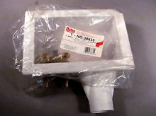 Oatey 38635 2  Washing Machine Outlet Box   F1807 type PEX   White
