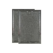 COMPATIBLE WHIRLPOOL WP56001069 ALUMINUM GREASE MICROWAVE RANGE FILTERS  2 PACK
