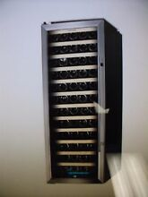 85 Bottle Stainless Steel Wine Cooler  Kalamera Glass Door Refrigerator