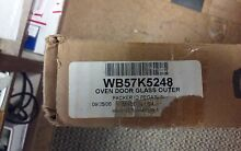 General Electric WB57K5248 Oven Glass Door Outer Panel  NEW  SEND MODEL NUMBER