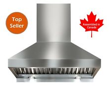 PROFESSIONAL RANGE HOOD 30  WITH MECHANICAL  SWITCHES  5 YEARS WARRANTY