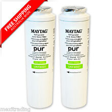 2 xMAYTAG   JENNAIR GENUINE UKF8001AXX INTERNAL FRIDGE WATER FILTER