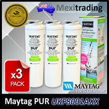 3X MAYTAG   JENNAIR GENUINE UKF8001AXX INTERNAL FRIDGE WATER FILTER