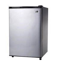 IGLOO Mini Refrigerator w Freezer 3 2 cu ft Fridge Compact Cooler Platinum