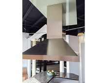 Island range hood stainless steel by Best