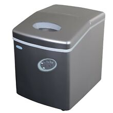 Brand New NewAir AI 100S 28 Pound Portable Ice Maker  Silver