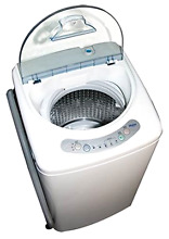 Haier Pulsator 1 Cubic Foot Portable Compact Smooth Rolling Washer Machine  New