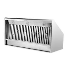 Modern Kitchen Ventilator 48 Inch Stainless Steel Under Cabinet Range Hood C0R2