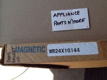 NEW GE MAGNETIC REFRIGERATOR DOOR GASKET WR24X10144 WHITE FREE SHIP