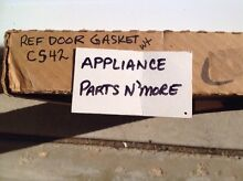 NEW REFRIGERATOR DOOR GASKET WHITE CS42  FREE SHIP