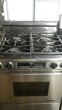 Dacor propane stove stainless steel