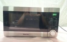 Magic Chef MCD1110ST1 1 1 cu ft COUNTERTOP MICROWAVE OVEN 1000W Stainless E05