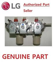 GENUINE LG WASHING MACHINE TRIPLE INLET VALVE PART   5221EA1001H