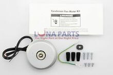 Genuine OEM 833697 Whirlpool Refrigerator Condenser Fan Motor Kit PS395284
