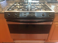 Used Thermador 30  Duel Fuel Range  Electric Stove Gas Cooktop  With Manuals