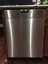 Miele G2120 SCU Stainless Steel Dishwasher for Parts or Repair