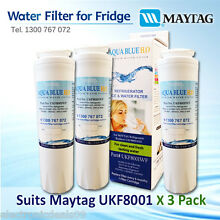 3x Amana Maytag Kenmore Jenn Air Fridge Water Filter UKF8001AXX 46 9006 30 9MT