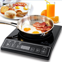 Induction Cooktop Portable Electric Countertop Burner 15 Power Levels