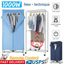 FAST Quick Electric Clothes Dryer Portable Wardrobe RV Machine Home Drying Rack