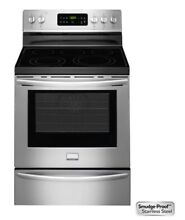 Frigidaire FGEF3035RF Gallery 30  Stainless Steel Electric Smoothtop Range