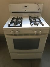 Kenmore 73232 4 2 cu  ft  Gas Range White