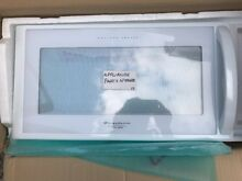 FRIGIDAIRE  ELECTROLUX WHITE MICROWAVE DOOR PN 5304434316 FREE SHIPPING NEW PART
