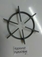 NEW UNBRANDED RANGE GRAY BURNER GRATE 208652 7 1 2  WIDE FREE SHIPPING