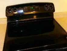 GE Black Electric Stove