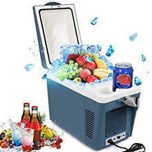 Portable Mini Thermoelectric Fridge Cooler Warmer Car Refrigerator 7L