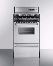 Used Summit Stainless Steel Gas Range