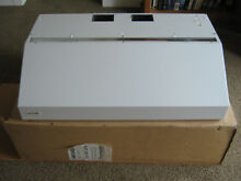 HB36QW  Thermador Range Hood 36  Wide x 22  Deep New in Open Box