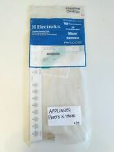 NEW ELECTROLUX DISHWASHER WHITE OVERLY SWITCH ASSEMBLY 154489201 FREE SHIPPING