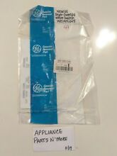 NEW GE DRYER WHITE OVERLAY WE19M1048 FREE SHIPPING