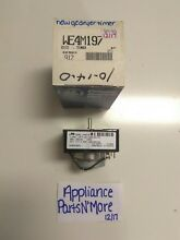 NEW GE DRYER TIMER WE4M197 572D478G01 FREE SHIPPING