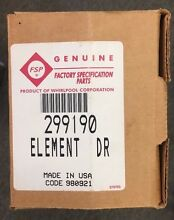 299190 NEW GENUINE OEM WHIRLPOOL   MAYTAG DRYER HEATING ELEMENT IN ORIGINAL BOX