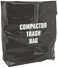 12 Pack NuTone     Broan 12 Inch Plastic Trash Compactor Bags 93620008 S93620